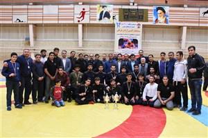 درخشش دانشگاه آزاد اسلامی واحد بوکان در مسابقات کشتی دانشگاه های آزاد استان آذربایجان غربی