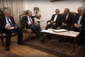 دکتر ولایتی با رئیس مجلس و وزیر خارجه لبنان دیدار کرد