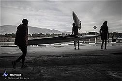 مسابقات کشوری قایقرانی آب های آرام بانوان