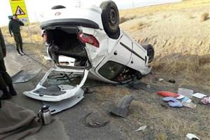 در واژگونی خودرو در جاده نیشابور-مشهد یک کودک 6 ساله کشته شد