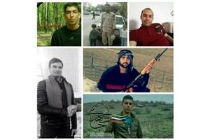امروز؛ تشییع پیکر مطهر هشت شهید سرافراز مرزبانی شهرستان چالدران