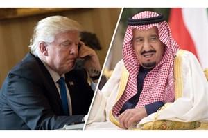 گفتگوی ملک سلمان و ترامپ درمورد سهام آرمکو