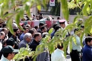 تشییع پیکر مطهر شهید گمنام در کرمانشاه