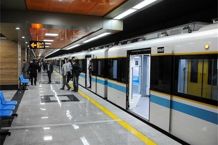 دسترسی زیرزمینی متروی شهری تهران به ساختمان راه آهن