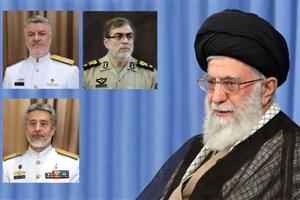 با حکم فرمانده معظم کل قوا انجام شد/سه انتصاب جدید در ارتش جمهوری اسلامی ایران