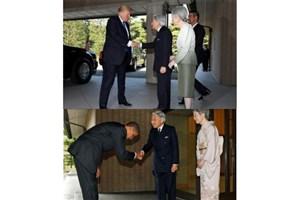 برخورد متفاوت ترامپ و اوباما در دیدار با امپراتوری ژاپن
