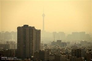 سایه ابر سیاه آلودگی هوا بر سر پایتخت