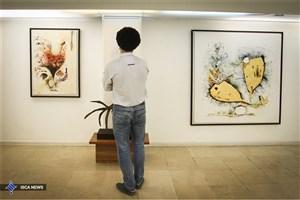 """روایت 18 هنرمند از زندگیدر نمایشگاه """"نگاه"""""""
