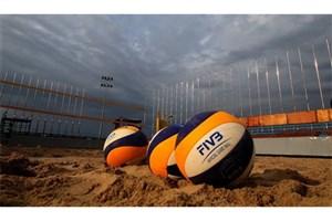 اوکراین رکورد ثبت نام در تور والیبال ساحلی کیش را شکست