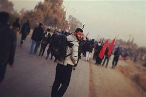 پیچ عمود 1400 و نسیمی که در پرچم سرخ حضرت عباس(ع) می پیچد