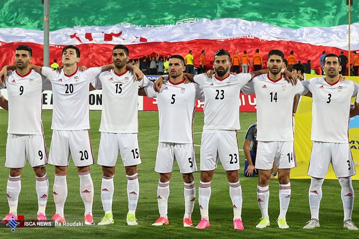 Team Melli's kit for the 2018 FIFA World Cup