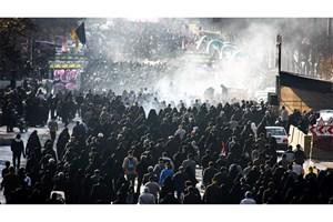 تمهیدات سازمان آتش نشانی  در راهپیمایی روز اربعین در تهران