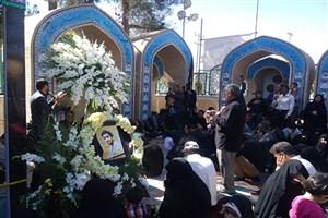 برگزاری مراسم تعزیه اربعین حسینی  در دانشگاه آزاد اسلامی واحد دهاقان
