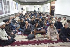 برگزاری گرامیداشت اربعین حسینی در دانشگاه آزاد اسلامی واحد خوی