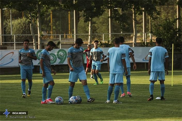 تمرین تیم ملی فوتبال امید ایران