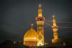 بارگاه اباعبدالله الحسین (ع) در آستانه اربعین حسینی
