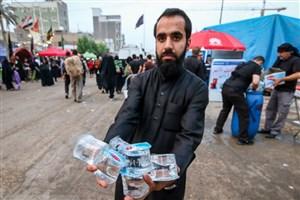 ۴ میلیون و ۲۲۷ هزار لیتر آب آشامیدنی زائران اربعین کلرزنی شد