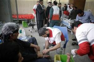 بیش از ۳۳ هزار زائردر کربلا و نجف خدمات درمانی دریافت کردند
