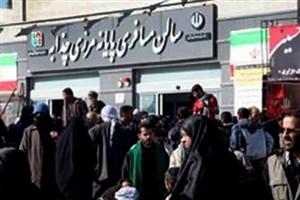 ورود بیش از یکمیلیون و 300 زائر اربعین به کشور/ ترافیک سنگین در محور مهران - ایلام