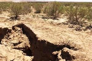 فرونشست زمین عامل افزایش ریزگرد