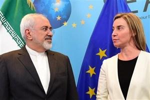 ظریف با موگرینی دیدار و گفتگو کرد