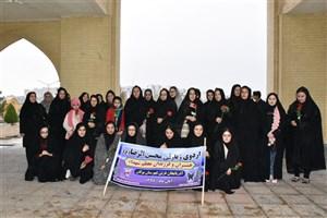 اعزام دانشجویان معظم شهداء و ایثارگران دانشگاه آزاد اسلامی واحد بوکان  به اردوی زیارتی مشهد مقدس