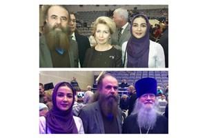 همسر نخستوزیر روسیه از «دلهره» تقدیر کرد
