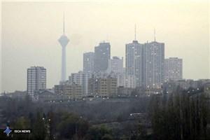 هوای پایتخت همچنان در وضعیت ناسالم برای گروههای حساس