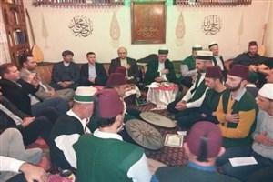 حضور سفیر ایران در هرزگوین در تکیه حسینی پیروان نقشبندیه