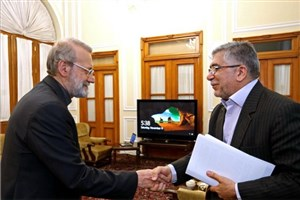 دیدار رئیس جهاد دانشگاهی با لاریجانی