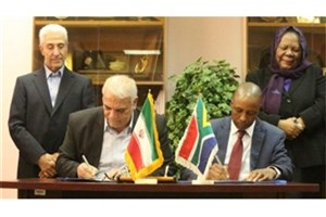 Iran, S. Africa Ink 6 Joint Scientific & Technological MoU