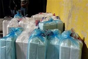 توزیع غذای گرم بین زلزلهزدگان در سرپل ذهاب