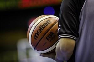 قضاوت ۴ داور ایرانی در مسابقات بسکتبال انتخابی جام جهانی ۲۰۱۹