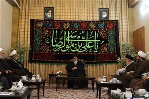 دیدار مسئولان دانشگاه علوم اسلامی رضوی با رئیس مجمع تشخیص مصلحت نظام