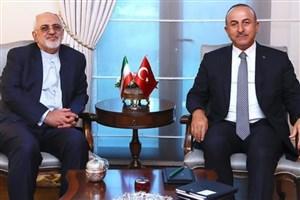 همدردی تلفنی وزیر امور خارجه ترکیه با ظریف