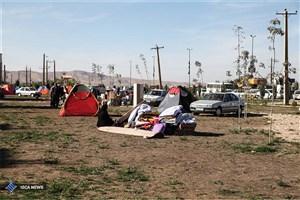 کرمانشاه ۲۴ ساعت پس از زلزله