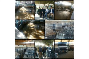 توزیع 40 هزار بطری آب بین شهروندان هرسینی