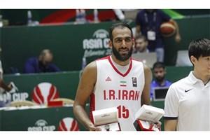 غیبت احتمالی حامد حدادی در دیدار تیمملی بسکتبال مقابل عراق