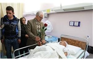 پذیرش مجروحان زلزله کرمانشاه در بیمارستان میلاد