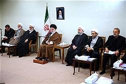 دیدار سران سه قوه و مسئولان نظام با مقام معظم رهبری