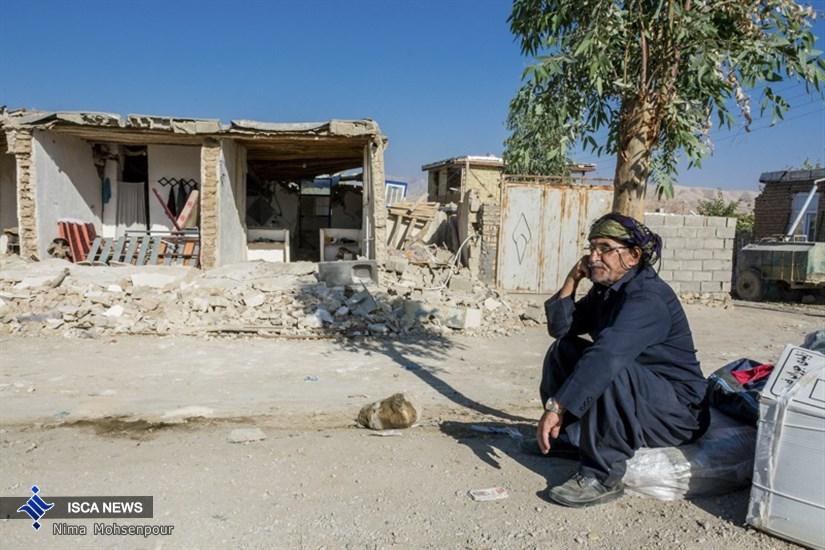زلزله در روستاهای اطراف سرپل ذهاب