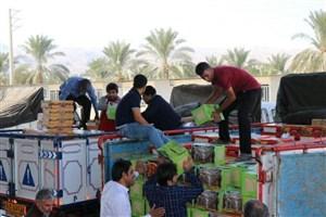 ۳۰ تن خرما، هدیه خیّران خشتی به زلزله زدگان