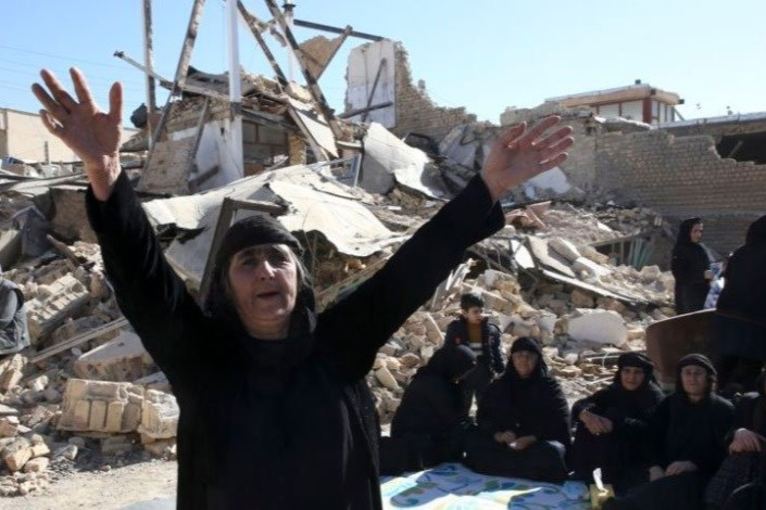 زلزله زدگان کرمانشاه