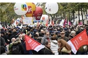 تظاهرات فرانسویها علیه مکرون