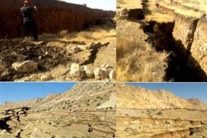 آبگرفتگی معابر در نقاط زلزلهزده کرمانشاه/هشدار به مسئولان