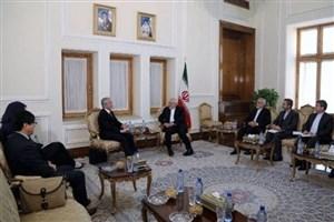 نماینده دبیرکل سازمان ملل در امور افغانستان با ظریف دیدار کرد