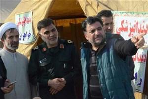 """امداد رسانی بیمارستان صحرایی """"کوئیک مجید"""" به زلزلهزدگان غرب کشور"""