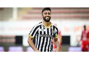 کاوه رضایی دومین بازیکن برتر هفته لیگ بلژیک
