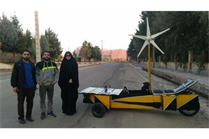 Young Iranians Create Eco-Friendly Hybrid Car