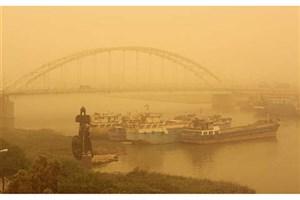 خوزستان  محاصره در گرد و غبار و ریزگردها/احتمال تعطیلی مدارس در روز چهارشنبه